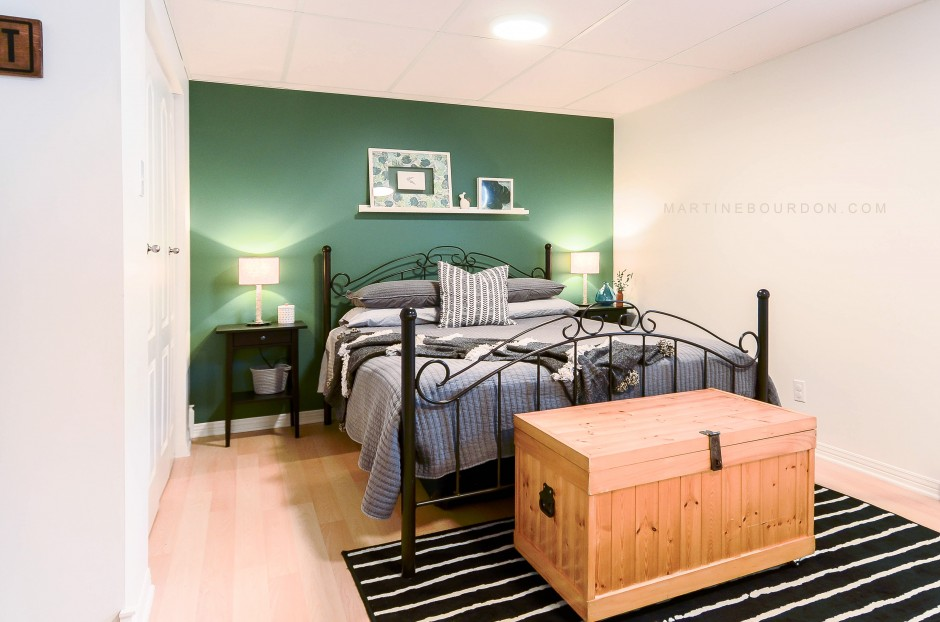 Hotte chambre verte MB