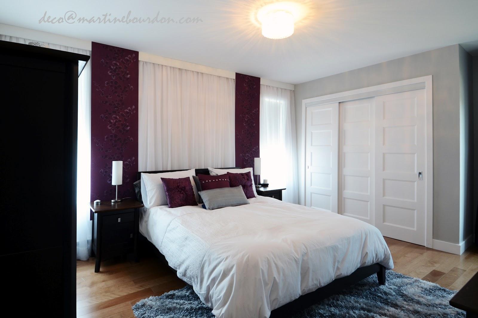 Avant-Après, une chambre à coucher romantique et stylée - Martine