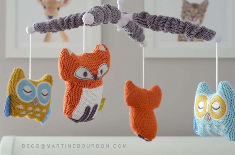 Décoration chambre bébé thème animaux