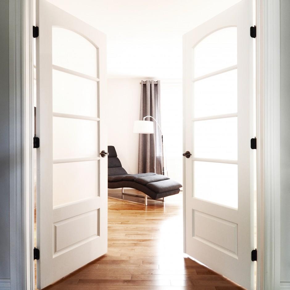 Chambre à coucher épurée
