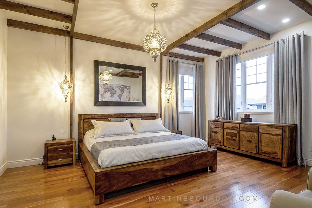 Avant-après, chambre à coucher inspiration baliMartine Bourdon