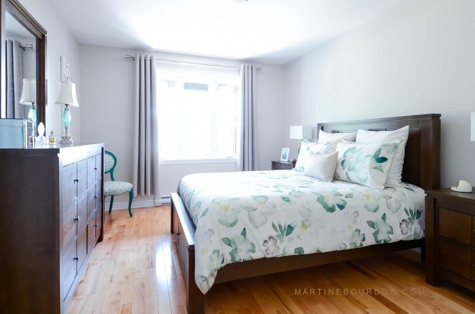 Chambre à coucher après les rénovations